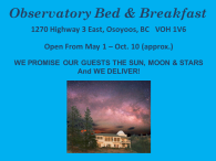 Observatory Bed & Breakfast