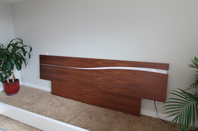 modern headboard