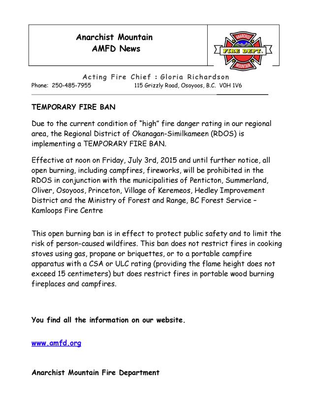 AMFD News July 4 2015