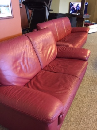 Leather sofa and couch for sale | Anarchist Mountain Community Society