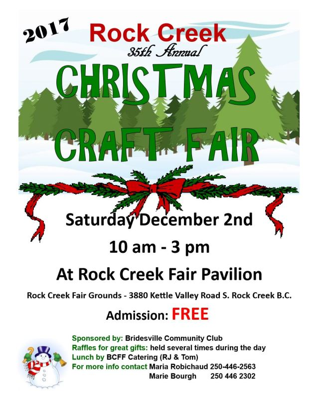 Rock Creek Craft Fair 2017